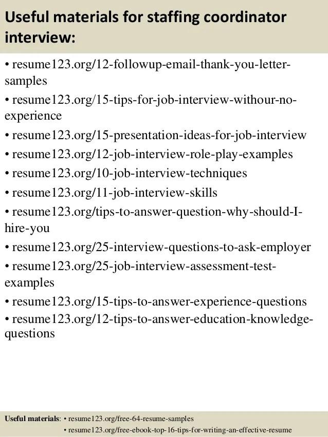 staffing manager resume - Apmayssconstruction
