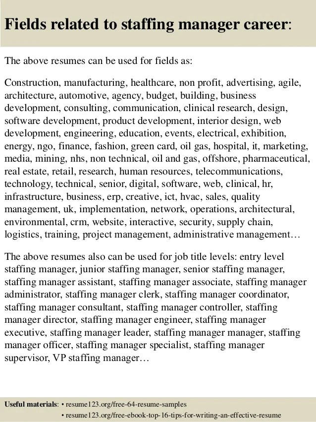 Submit Resume Nadia Jobs In The Uae Top 8 Staffing Manager Resume Samples