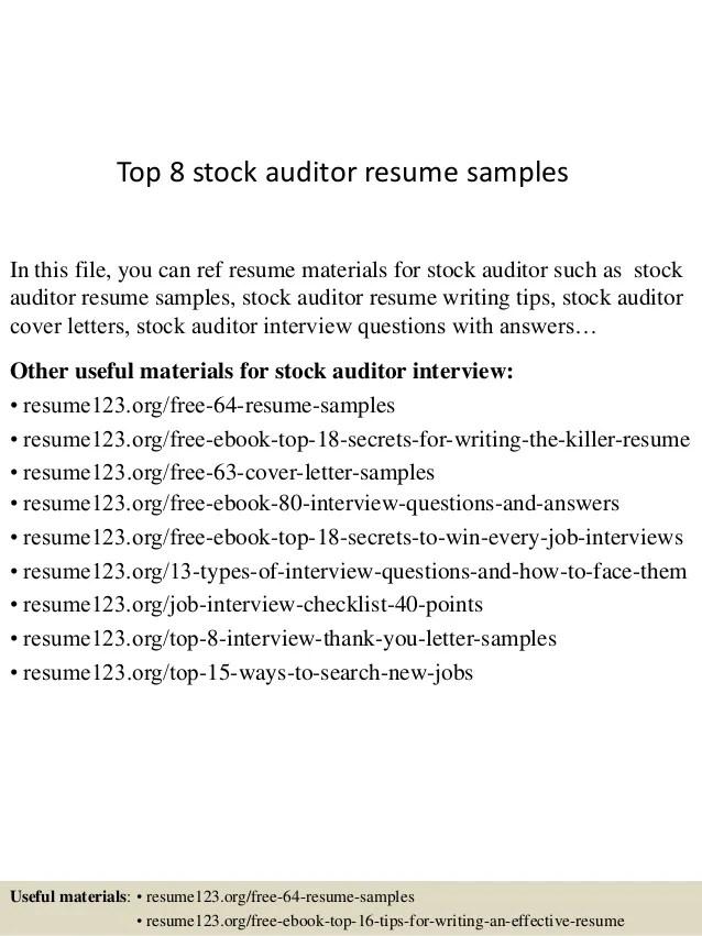 audit resume - Goalgoodwinmetals