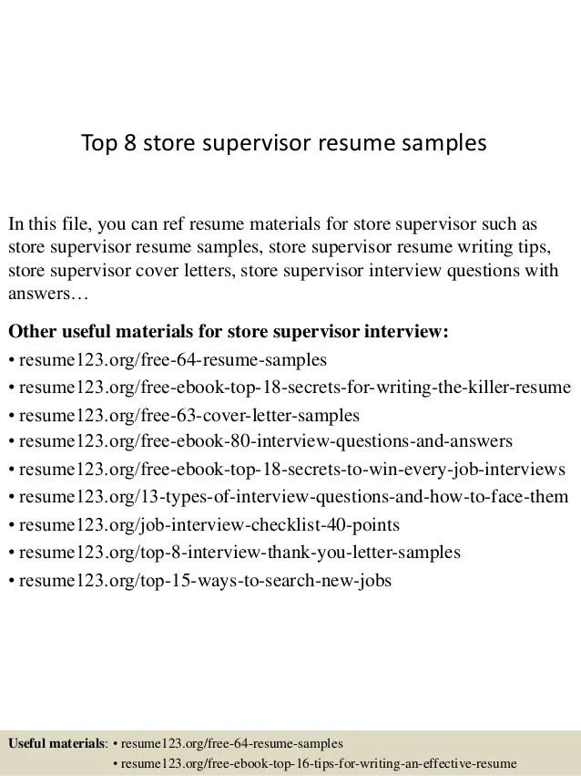 sample help desk supervisor resume - Kenicandlecomfortzone