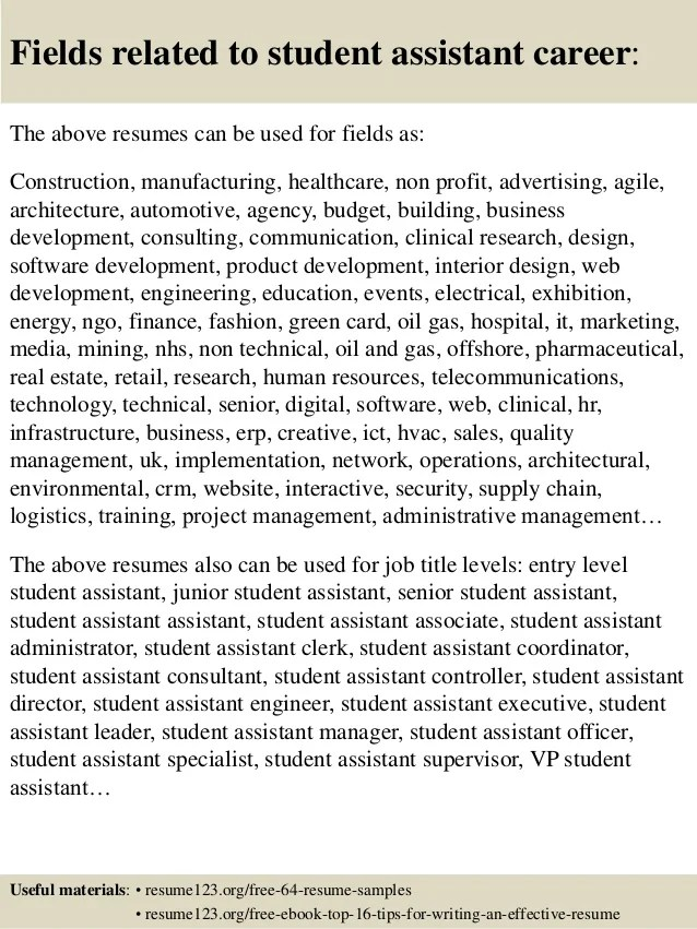 sample research assistant resumes - Onwebioinnovate - research assistant resume