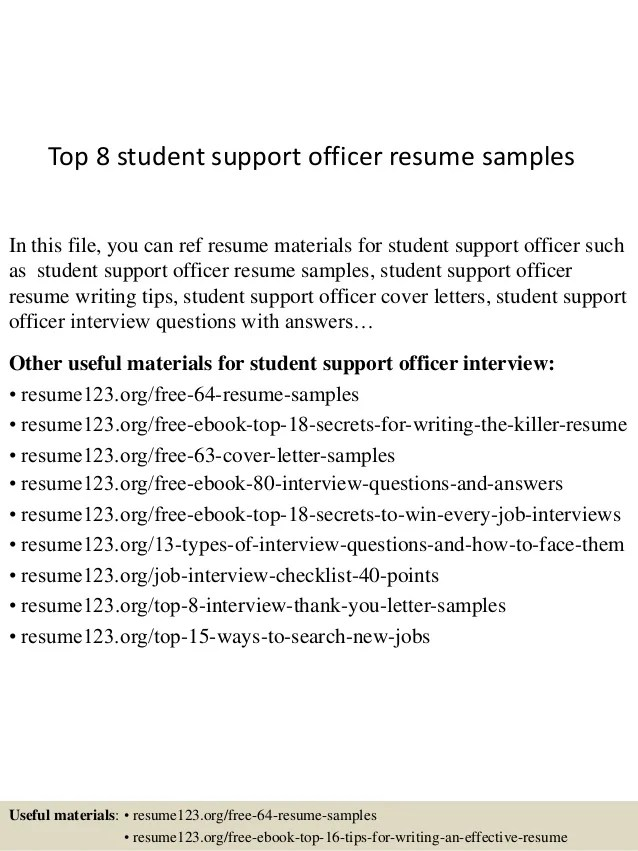 student services cover letter - Onwebioinnovate