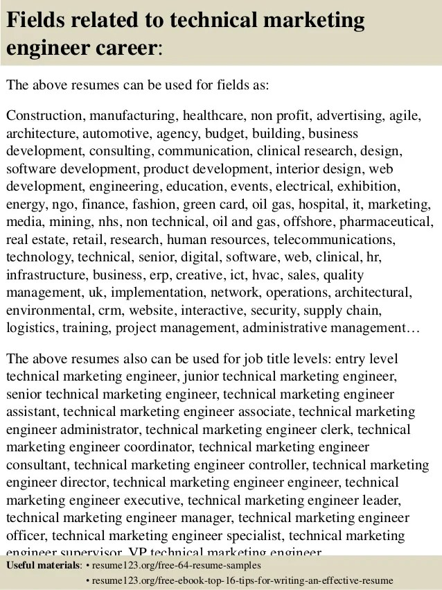 sales marketing engineer resume sample control systems engineer