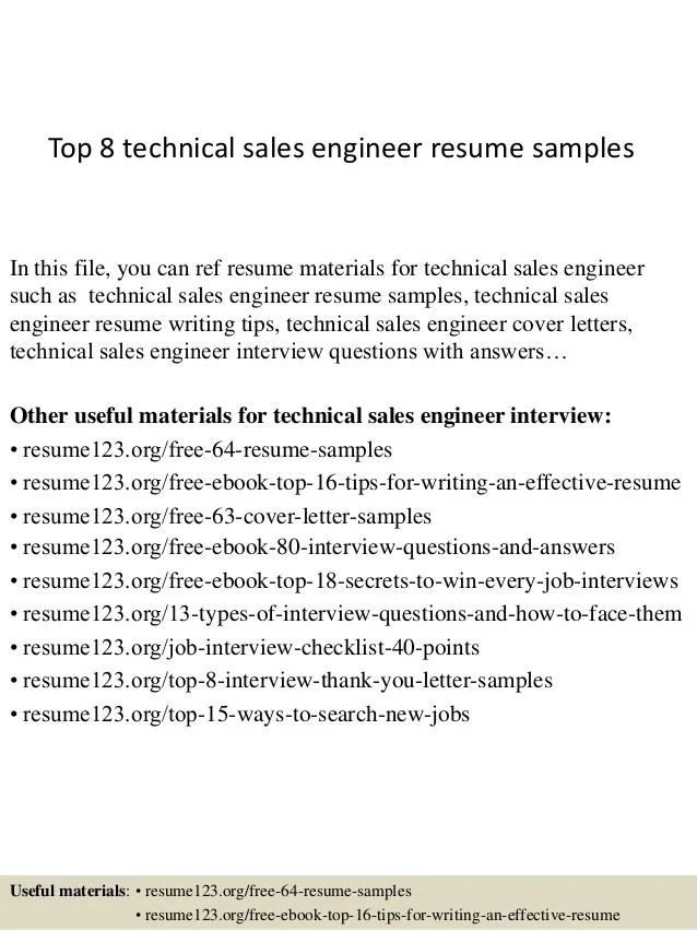 technical sales resumes - Ozilalmanoof
