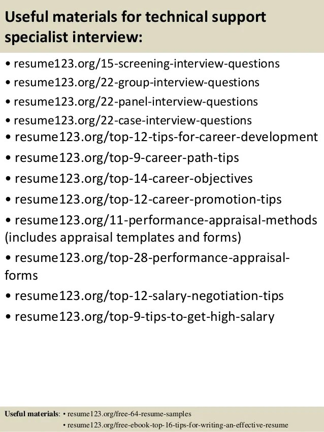 career objective technical support - Josemulinohouse - product support specialist sample resume