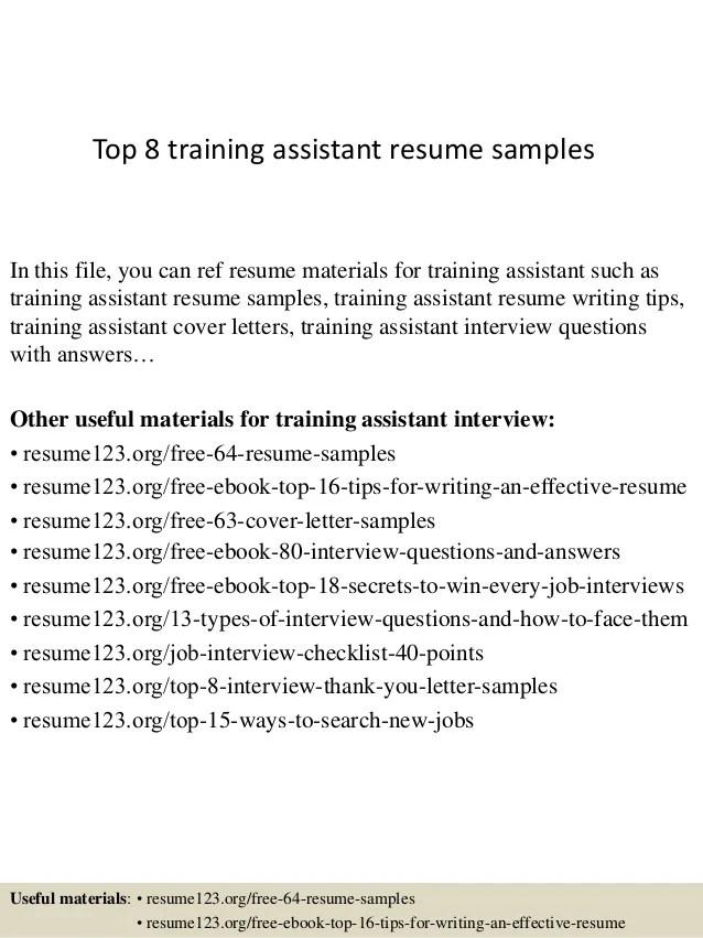 training resume samples - Josemulinohouse - trainer resume example