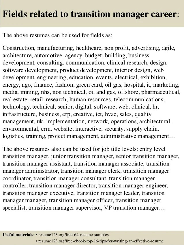 product manager sample resumes