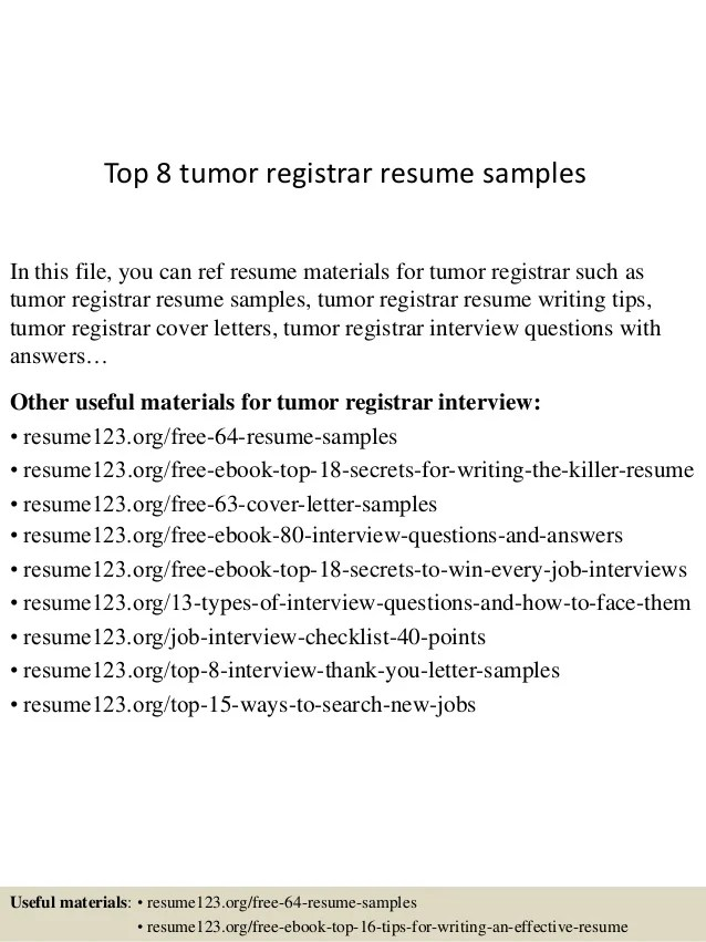 career services resume template