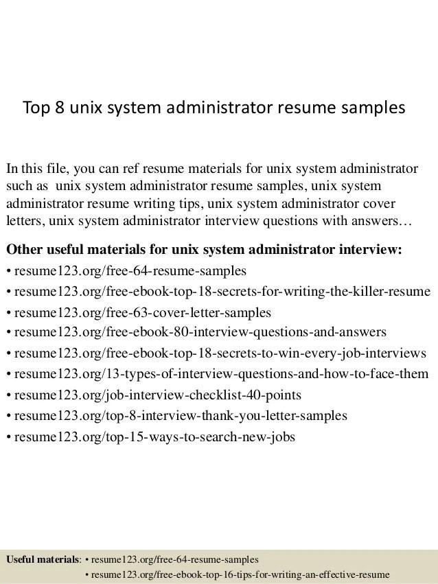 unix resumes - Boatjeremyeaton