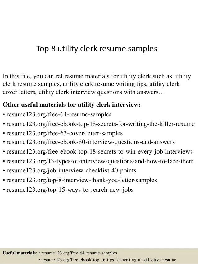 utility resume - Vaydileeuforic