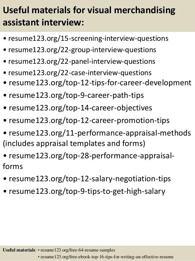 visual merchandising resume - Alannoscrapleftbehind
