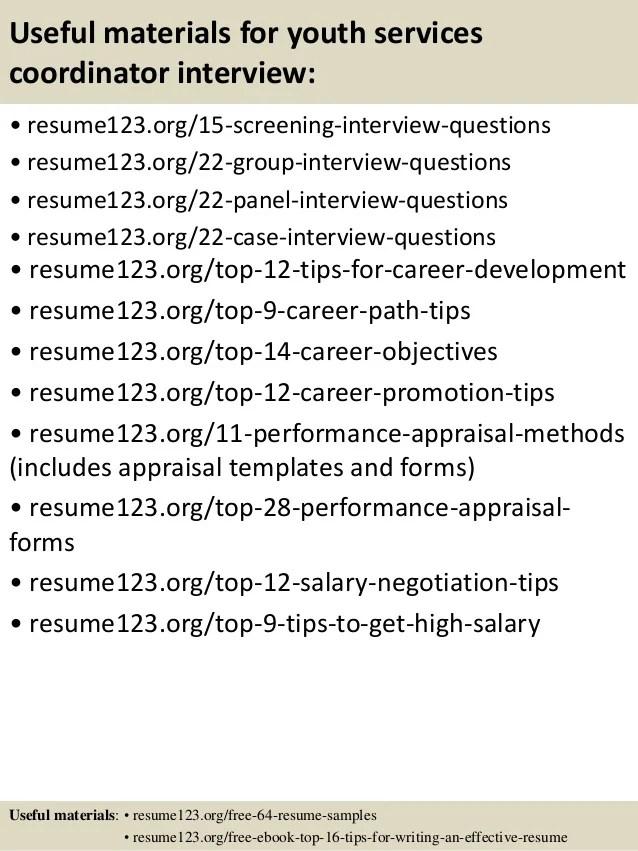 sample youth coordinator resume - Tikirreitschule-pegasus - sample youth coordinator resume