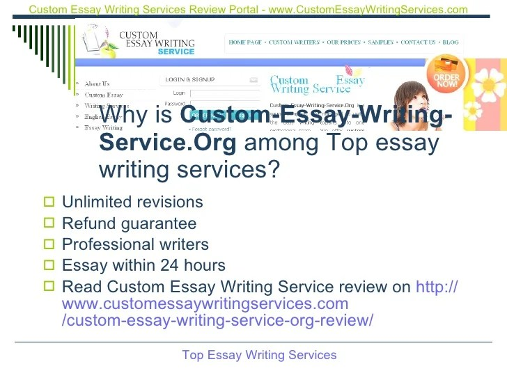 Top dissertation writing services