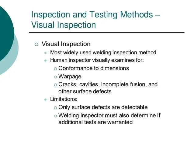 weld inspector