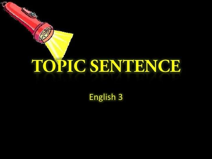 how to start a sentence