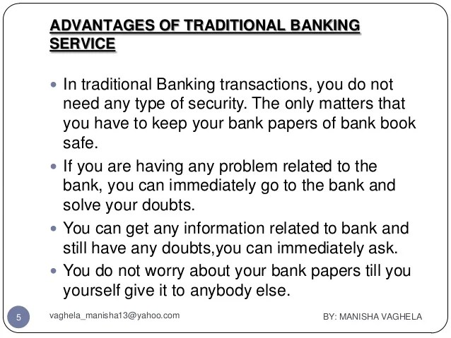 Traditional Online Banking