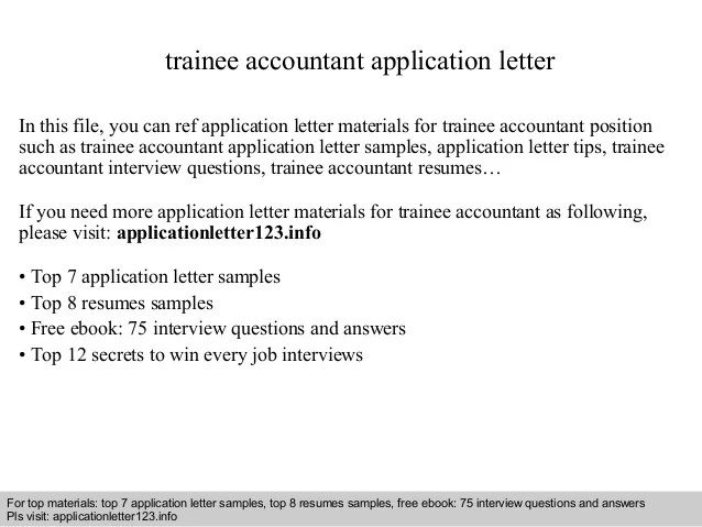 Application Letter Writing Qut Careers And Trainee Accountant Application Letter