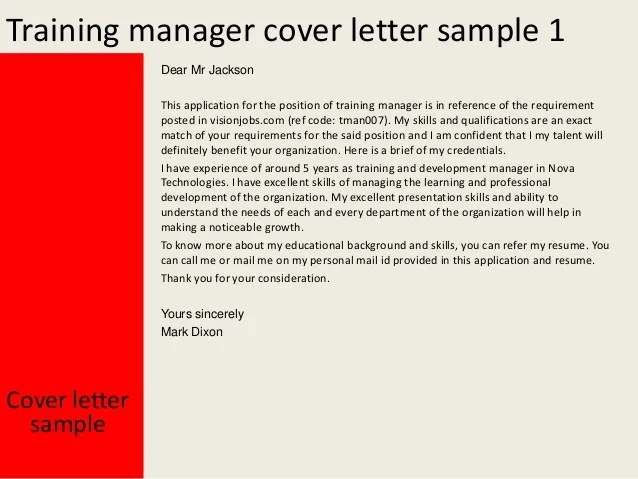 Best Store Manager Cover Letter Examples, LiveCareer
