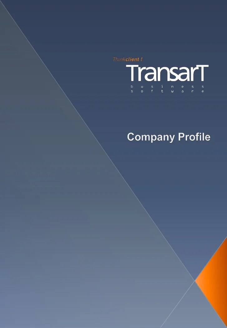 Sample Company Profile 7 Documents In Word Pdf Transart Company Profile En 201107
