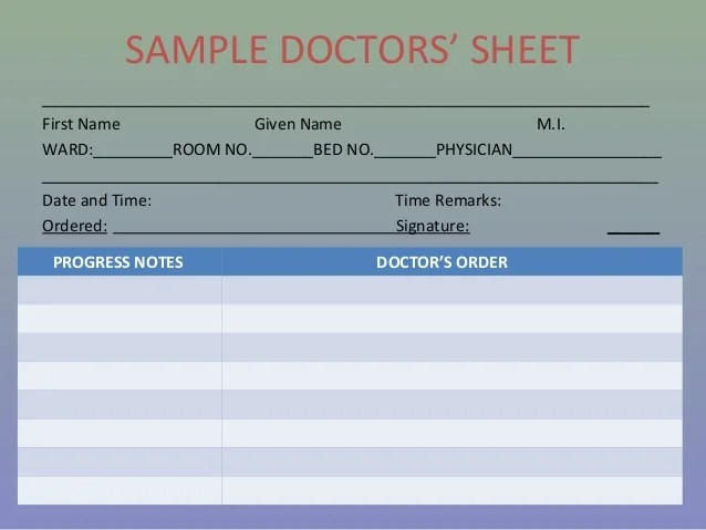 doctors sign in sheet - Roho4senses - doctor sign in sheet