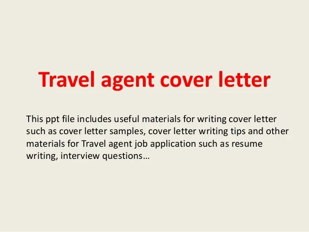 Cover Letter Travel Agency Company Profile Sample | Hotel Position ...