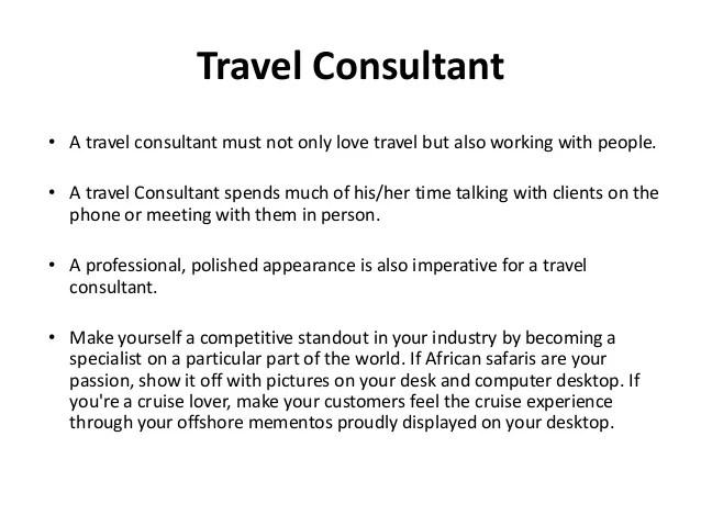 Travel agent job description - travel agent job description