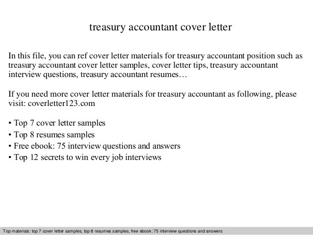 Cover Letter For An Accountant - Costumepartyrun
