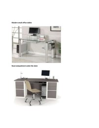 Trendy and compact office table design ideas