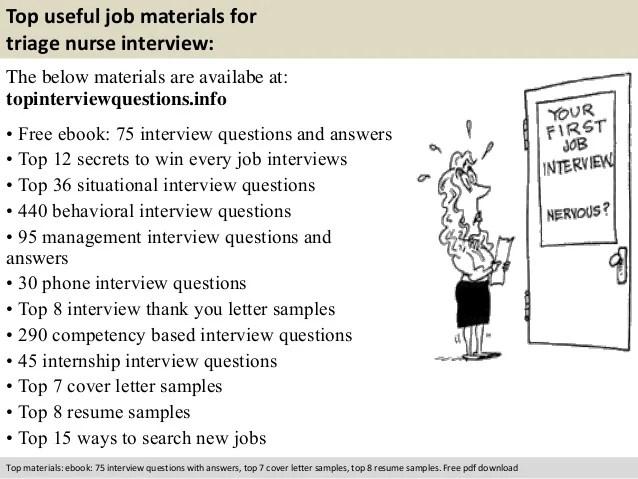 Job Interview Job Interview Guide Interview Triage Nurse Interview Questions