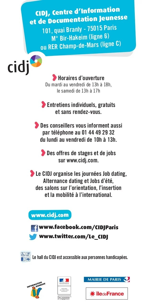 jobs dating cv ou pas