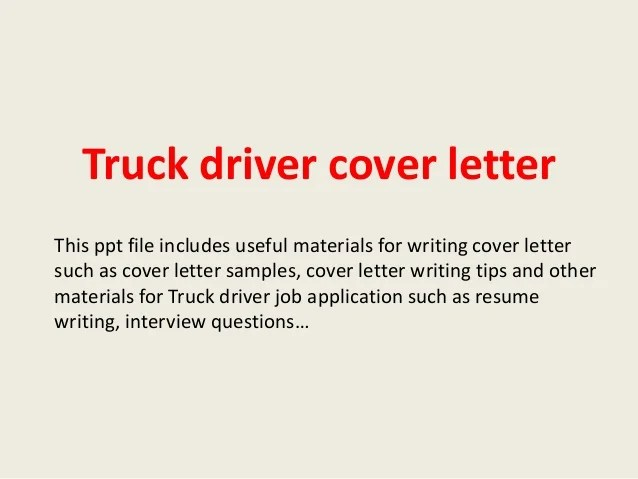 Home Welcome To Paradip Port Truck Driver Cover Letter