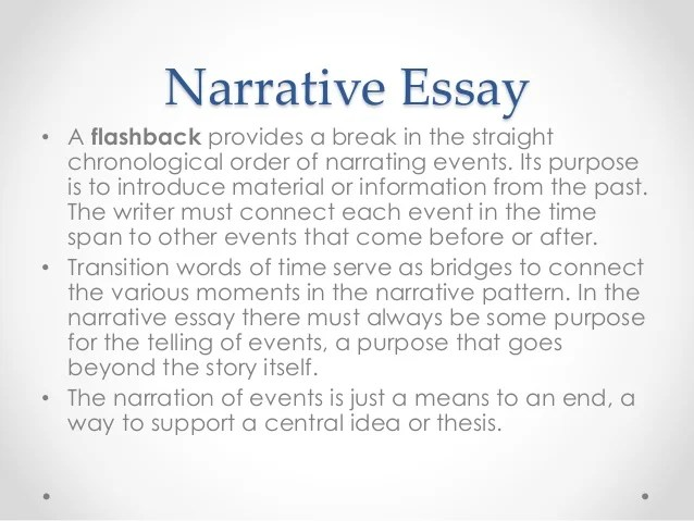 types of essays and examples