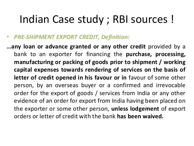 Irrevocable Letter Of Credit Tradeindia Types Of Letter Of Credits On 11 09 2012