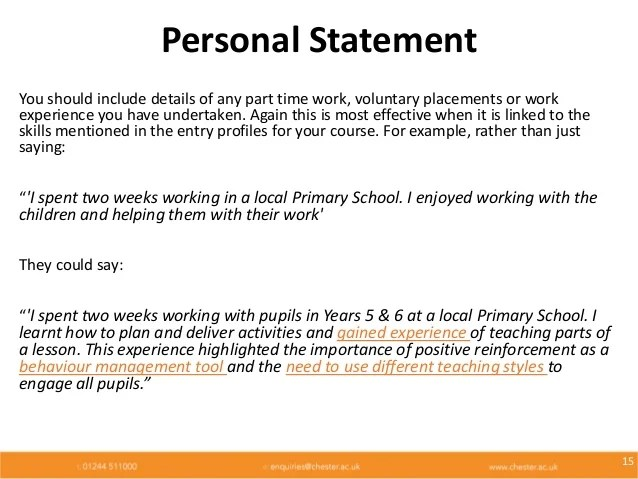 personal statement my goals and why essay Writing the personal statement a statement of purpose, or personal statement, is a brief and focused essay about one's career or research goals, and is frequently required for applicants to universities, graduate schools, and professional schools.