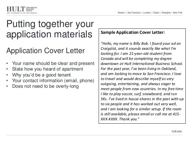 housing cover letter - Ozilalmanoof