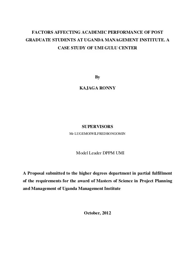 Mba Admissions Programs Research Proposal Title Page Template