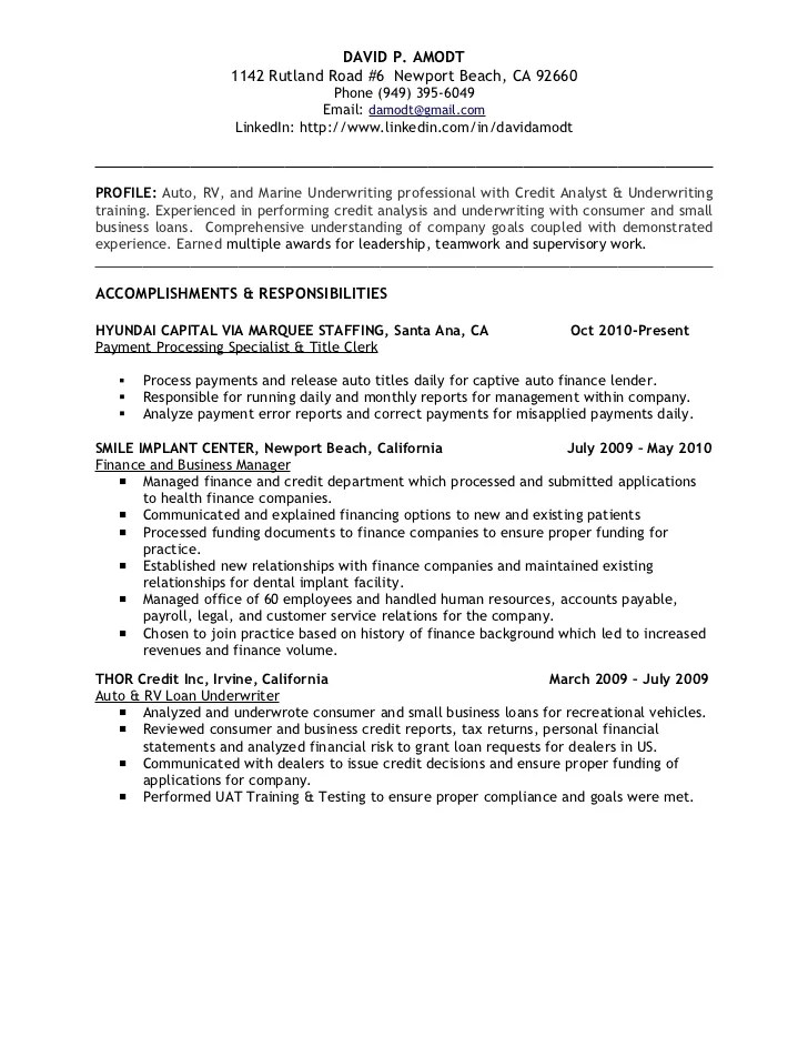 credit risk analyst resumes - Juvecenitdelacabrera - credit risk analyst sample resume