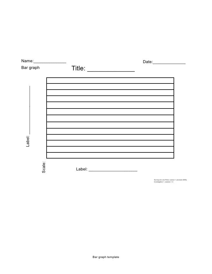 Blank Bar Graph Templates 6 best images of blank daily weather - blank bar graph printable
