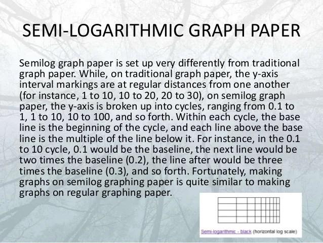 two cycle semi log graph paper