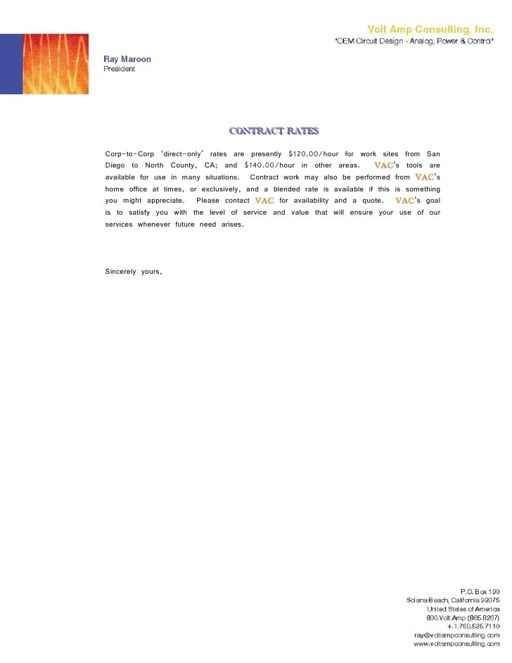 cover letter letterhead - Cover Letter Letterhead