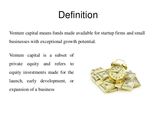 Definition Venture Capital