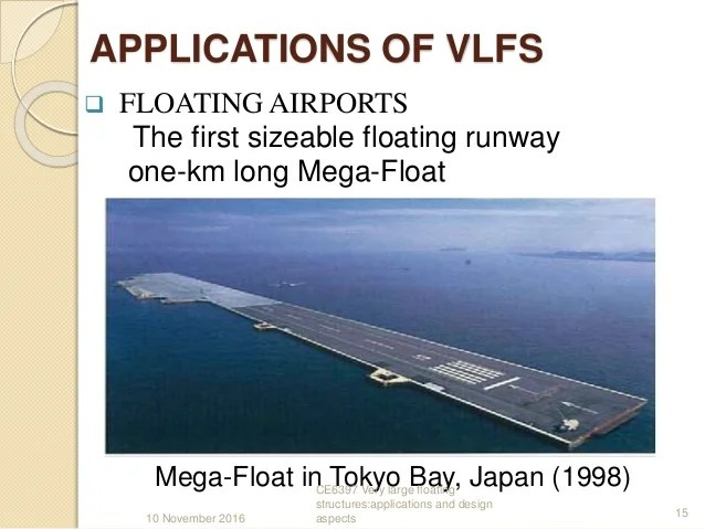 Very Large Floating Structures