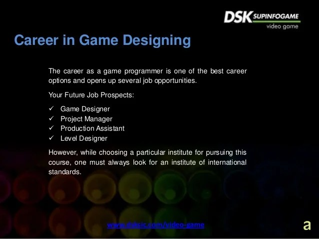video game designer career - Josemulinohouse - game designer job description