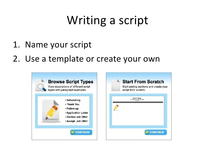 video resume script - Alannoscrapleftbehind - video resume examples