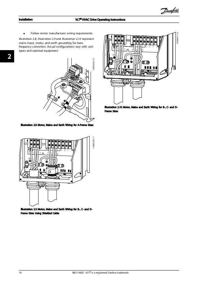 danfoss vlt 6000 wiring diagram