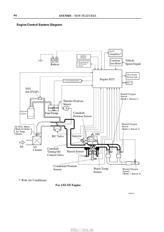 engine speed timing sensor circuit