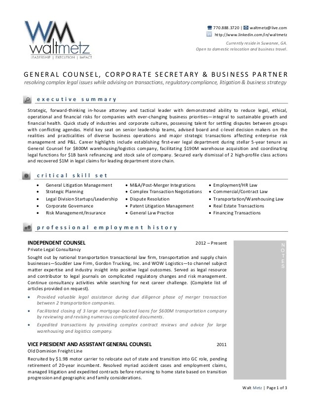 contract attorney resumes - Intoanysearch - patent associate sample resume