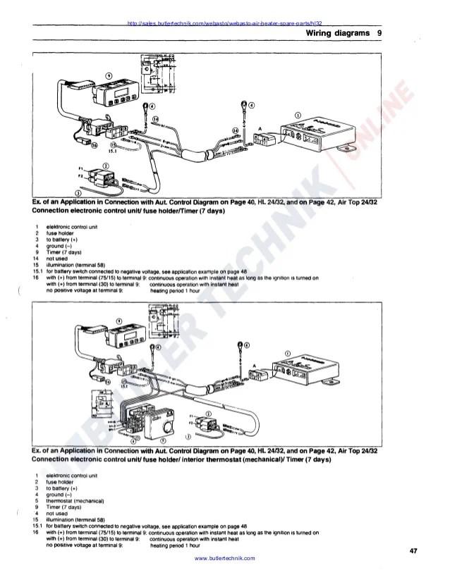 Webasto Heater Manual - Facias on