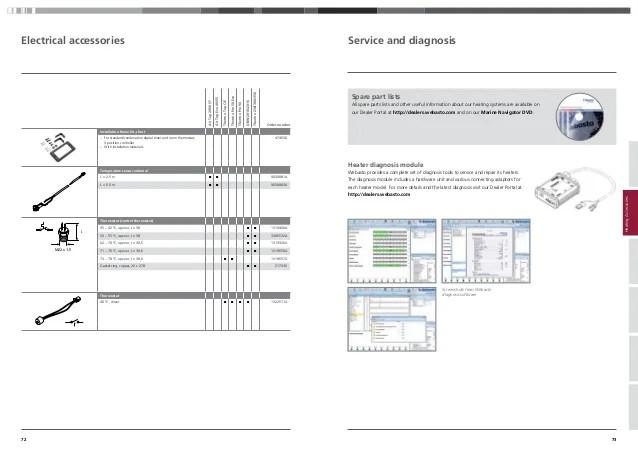 webasto digital timer controller pictures