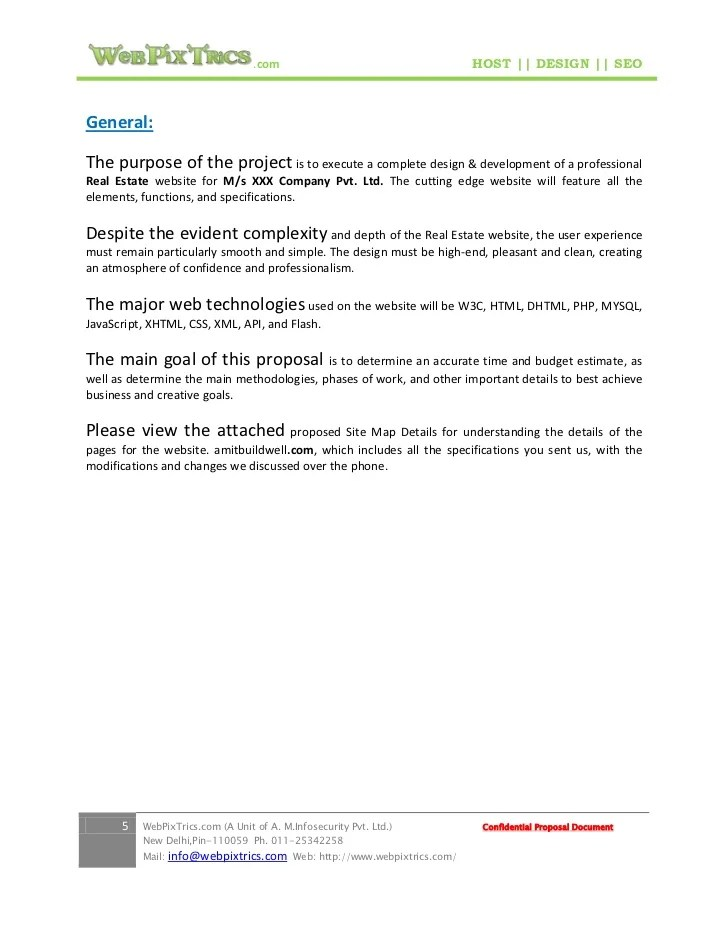 sample proposal letter for website design - Boatjeremyeaton - website proposal sample